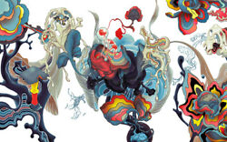 James Jean Lotus War Day 2011 Poster Print Signed #50 EXTREMELY RARE