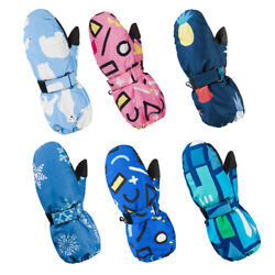 Ski Gloves Kids Winter Warmest Waterproof Breathable Snow Glove for Boys Girls T $29.99