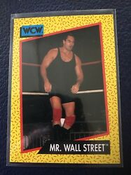 MR. WALL STREET Irwin R. Schyster 1991 Impel WCW #84 MINT $1.99