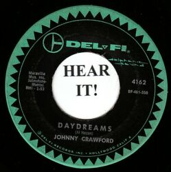 Johnny Crawford TEEN 45 (Del-Fi 4162) Daydreams So Goes The Story
