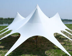 Waterproof Commercial Wedding Event Beach Yard Patio Triple Star Stretch Tent