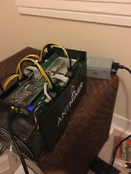 Bitmain Antminer S5 ASIC Bitcoin Miner 1.15 TH s w Power Supply PSU Watt Mining $445.00