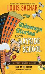 Sideways Stories from Wayside School by Louis Sachar New Paperback Free Ship