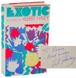Albert HALEY  EXOTIC Signed First Edition 1982 #111555