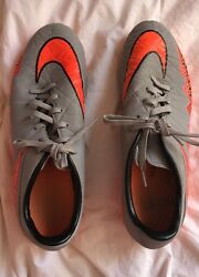 Men#x27;s 9 1 2 Nike Orange Plastic Cleats