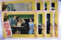 Take her She's Mine 1963 James Stewart original lobby card set of 8