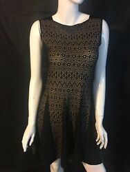 NWT! She's So Made in Italy Luxe Designer Sleeveless Dress [SZ 44] #N699