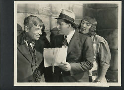 WILL ROGERS + DIRECTOR DAVID BUTLER CANDID ON SET  - 1931 CONNECTICUT YANKEE