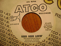 PROMO ATCO 45 RECORD The Vanilla Fudge GOOD GOOD LOVIN'  SHOTGUN   NR MINT