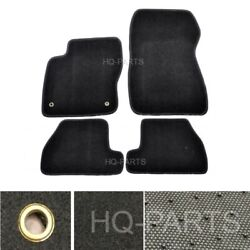 New 4 Pieces Black Nylon Carpet Floor Mats Fit For 11 15 Ford Focus $39.99