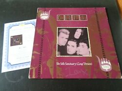 THE CULT AUTOGRAPH SIGNED SHE SELLS SANCTUARY UK 12
