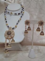 Artisan Crafted  Hand Made Necklace & Earrings from India