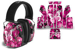 Howard Leight Leightning L3 Wrap Decal Noise Ear Shooting Muffs Skin BUTTERFLY $19.95