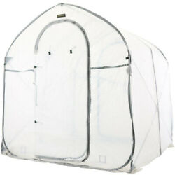Deep Pop Up Greenhouse Outdoor Garden Center Portable Greenhouses Clear Home