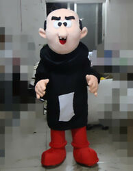 Halloween Mascot Costume Suits Gargamel Parade Cosplay Outfits Party Game Dress $372.88