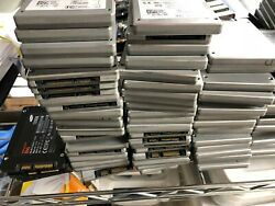 BULK LOT: 150 UNITS of 128GB Internal SSDs  INTEL SAMSUNG SANDISK KINGSTON