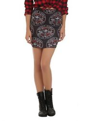 Avenged Sevenfold Pencil Skirt Hot Topic Size X large Form Fitted Rock Band $18.00