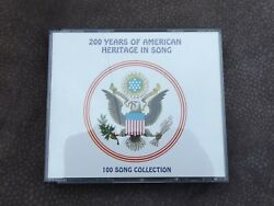 CD 200 Years Of American Heritage In Song 100 Song Collection 4 CDs 1991