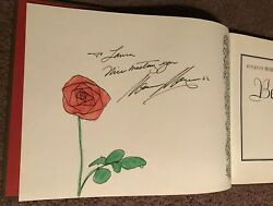 SIGNED & INSCRIBED Beauty And The Beast Mercy Mayer Autographed Book 1978 RARE