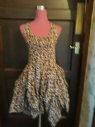 Stunning All Saints Tokyo Ditzy (Erza) Dress Size 8 Excellent Condition $50.03