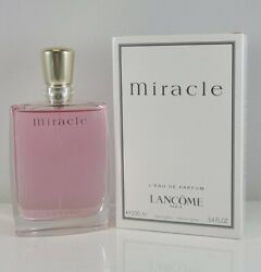 Miracle by Lancome 100ml 3.4 Oz Eau de Parfum Spray New box As in Pic $75.00