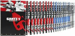 GANTZ 1-37 Comic Complete Set Hiroya Oku Japanese manga book anime