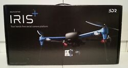 3DR Iris+ Quadcopter Drone w GoPro Mount 915 MHz & Spare Props Battery + More