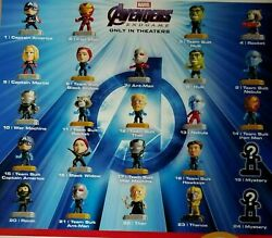 2019 McDONALD#x27;S MARVEL AVENGERS HAPPY MEAL TOYS Choose Your character SHIPS NOW $9.99
