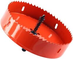 6-Inch Hole Saw Blade Corn Hole Drilling Cutter Woodworking Tool Hole Saw Blade