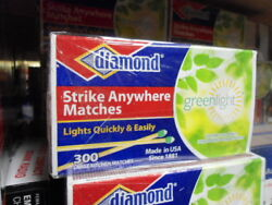 Diamond Strike Anywhere Matches (3boxes of 300=900 matches) FREE SHIPPING