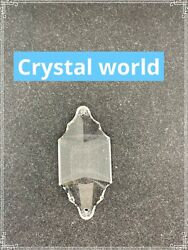 14 x 64MM CLEAR Asfour Crystals Pendluque #914 Chandelier Crystal Parts 2 Holes $21.99