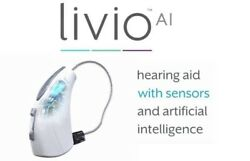 Starkey Livio AI Rechargeable Hearing aids! iPhoneAndroid Compatible!