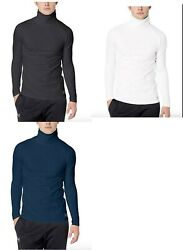 Under Armour Men#x27;s Fitted Coldgear Funnel Neck $55 White Navy Or Black $34.99
