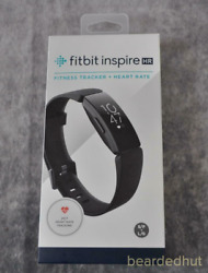 Brand New Fitbit Inspire HR Fitness Tracker BlackSmall & Large Bands Included