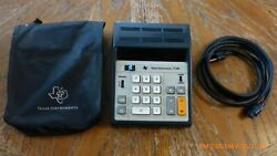 Texas Instruments TI-340 Desk Calculator with cover and power supply cord works $14.99