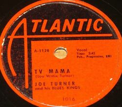 JOE TURNER 78 ELMORE JAMES TV MAMA OKEE SHE USA ATLANTIC 78 RPM VG+