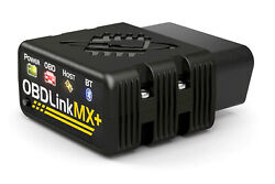 OBDLink MX+ Bluetooth OBD2 Scanner Trip-Logger and Vehicle Data Monitor