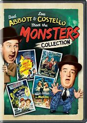 Abbott and Costello Meet the Monsters Collection DVD  NEW $13.99