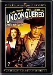 Unconquered DVD Gary Cooper NEW $6.00