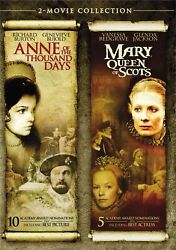Anne of the Thousand Days  Mary Queen of Scots DVD  NEW $12.54