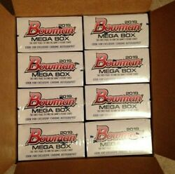 2019 Bowman Baseball Mega Box - From Sealed Case Wander Franco Auto? Mojo?