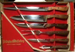 VINTAGE NEW IN BOX Wellington Chef#x27;s Knife Japan Super Hard Stainless BIN#54 $14.99