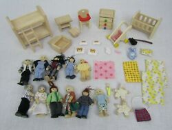 Ryans Room Plan Toys Wood Dollhouse Furniture People Family Lot