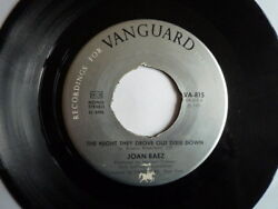 Joan Baez – The Night They Drove Old Dixie Down   VA-815    VG