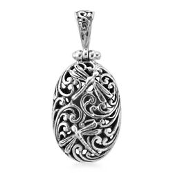 925 Sterling Silver Stylish Unique Dragonfly Pendant Jewelry Gift for Women $18.39