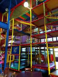 HUGE Indoor Playground Playland Commercial Kids Playset daycare church soft play
