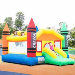 Inflatable Bounce House Bouncer Castle Commercial Kids Yard Outdoor Playground