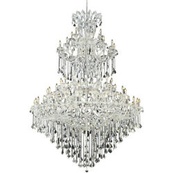 2800 Maria Theresa Collection Chandelier D:72in H:96in Lt:85 Chrome Finish (R... $7,650.00