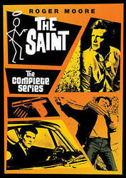 THE SAINT Complete Series DVD Collection 1-6 - Season 1 2 3 4 5 6 - Roger Moore