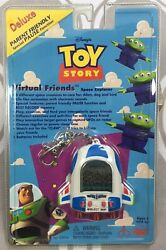 Toy Story Buzz Alien Virtual Pet Friend Tamagochi VTG 90's Electronic Game NIP!
